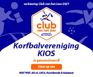 KV KIOS is genomineerd voor verkiezing Club van het jaar!